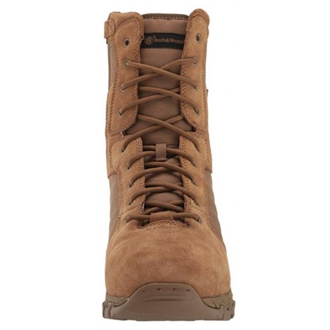 Smith & Wesson Breach 2.0 light brown & tan boots front view