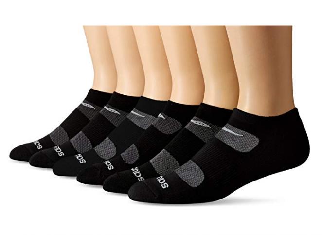 Saucony Performance Comfort Fit No-Show