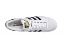 A Top View of the Adidas Superstar shoe