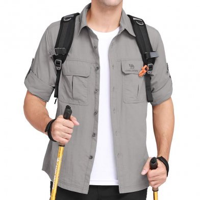 Camel Crown Hiking Shirt  which gives top comfort, good protection and lots of style,