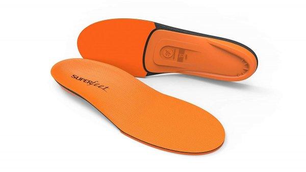 Superfeet Orange insoles for healthy feet