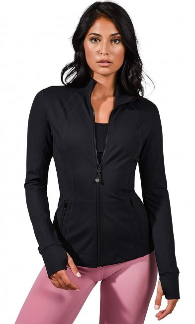review for the 90 Degree Running Jacket for ladies,