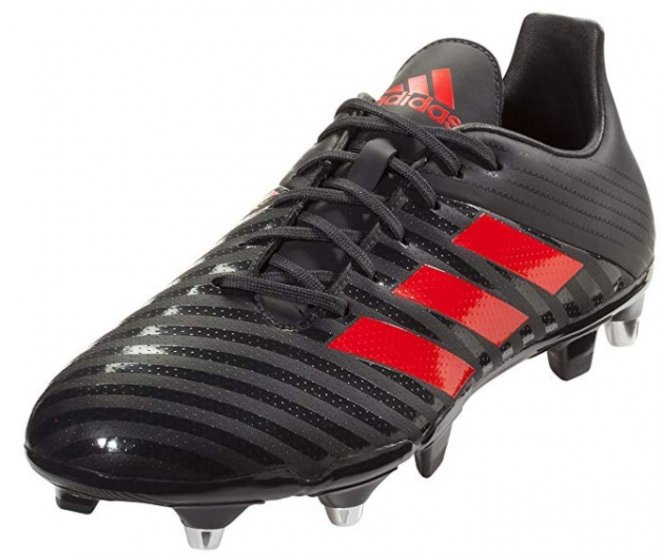 Adidas Malice Control SG black rugby shoe