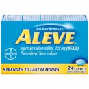 Aleve Caplets muscle pain reliever