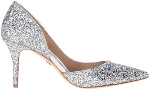 Badgley Mischka Daisy Best Glitter Shoes
