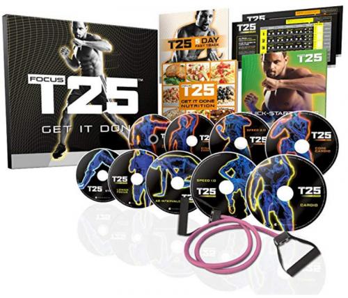 Beachbody Focus T25 best workout videos for men