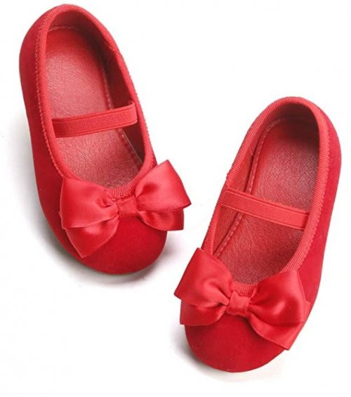 Bear Mall Flat Best Toddler Wedding Shoes