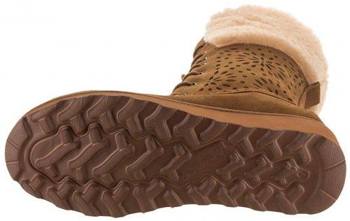 Bearpaw Kylie Best Tan Boots light brown & tan boots bottom view