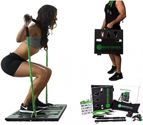 image of BodyBoss home gym 2.0 best home gym equipment