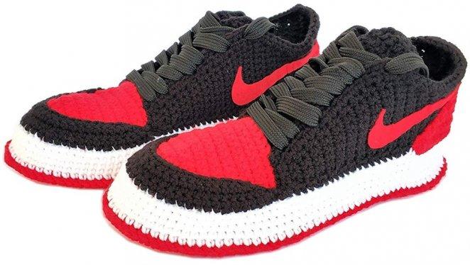 Seay Crochet sneaker slippers