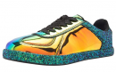 Cambridge Select Iridescent holographic sneakers