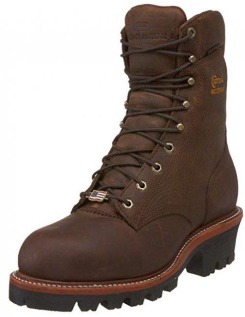 logger work boots Chippewa Arador