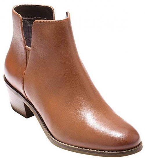 Cole Haan Abbot light brown & tan boots design