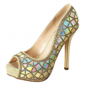 De Blossom Collection Carina holographic shoes