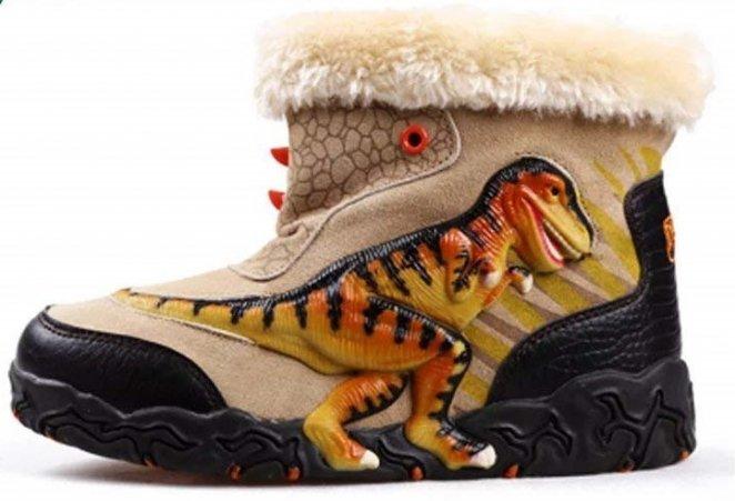 Dinosoles T-Rex Boot
