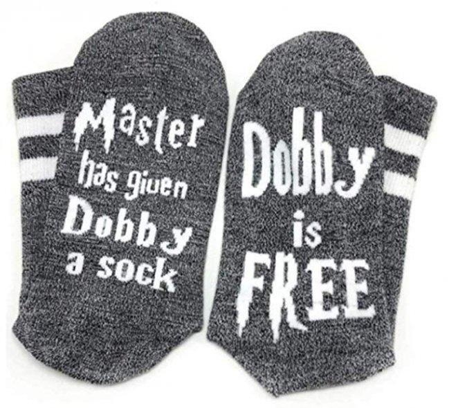 Moyel Dobby Is Free Best Harry Potter Socks