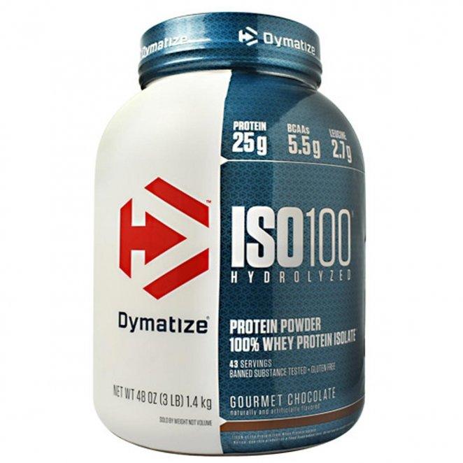 Dymatize ISO 100 quality whey powder