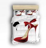 Family Decor Red High Heel Set
