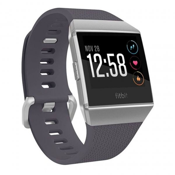 Fitbit Ionic Watch black and silver