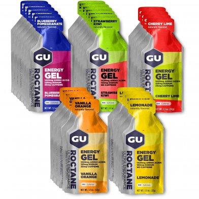 GU Energy Roctane Gel variety