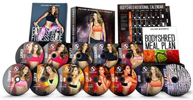 Gaiam Body Shred workout videos for women