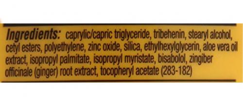 Gold Bond Stick Ingredients