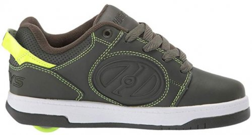 Heelys Voyager wheel shoes side view