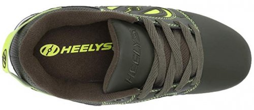 Heelys Voyager wheel shoes top view
