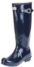 Hunter Original Tall Best Blue Shoes