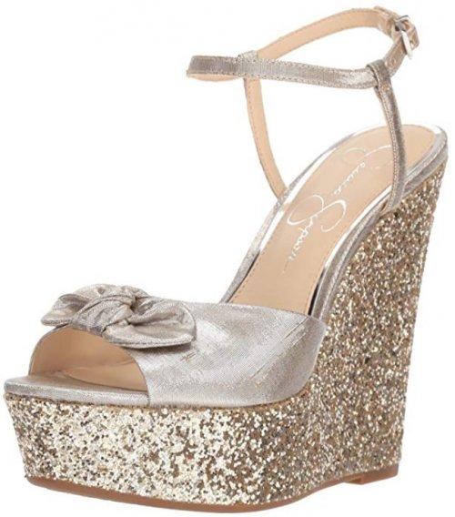 Jessica Simpson Amella Best Glitter Shoes