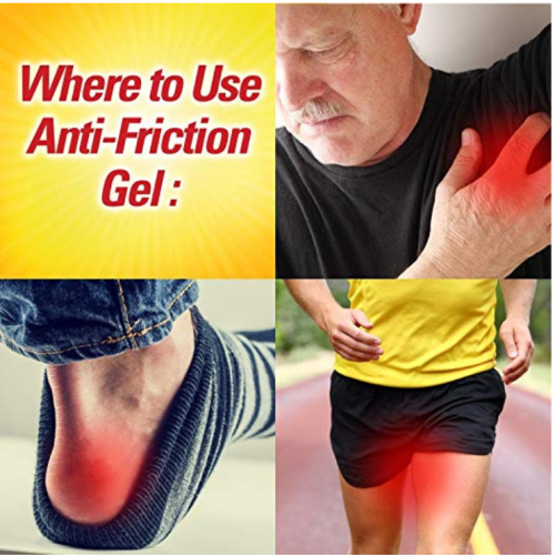 Lanacane Anti-friction Gel Use