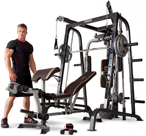 image of Marcy Smith Cage best home gym equipment