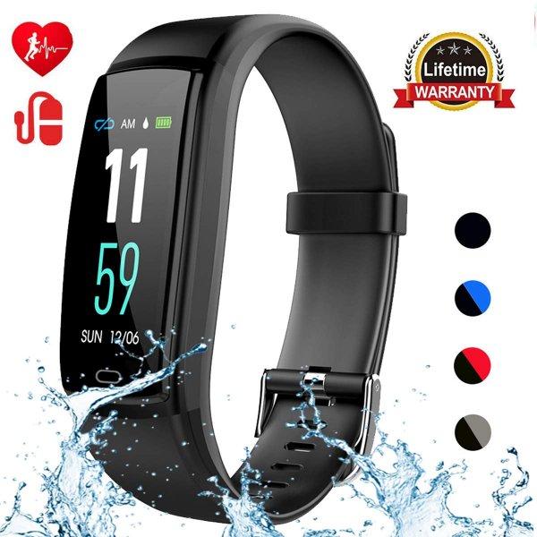 Mgaolo Fitness Tracker black