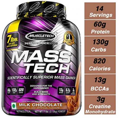 MuscleTech mass tech-Best-Mass-Gainers-Reviewed 3