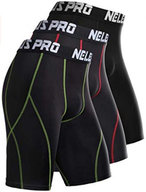 Neleus Compression Shorts