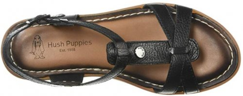 Olive TStrap Best Hush Puppies Shoes