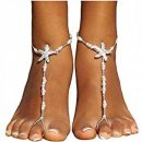 Pearl Chain Sandals