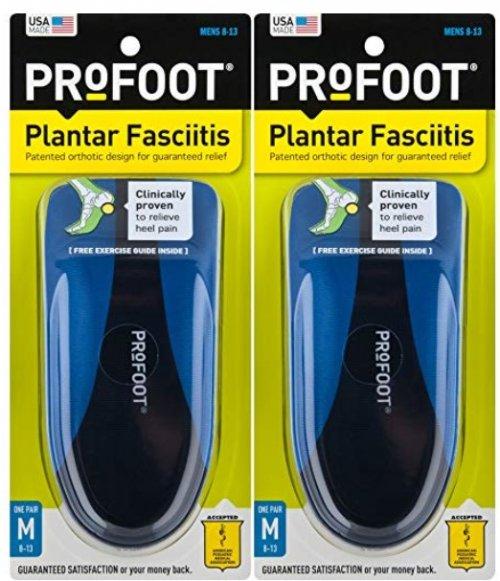 Profoot Plantar Fasciitis heel cups package