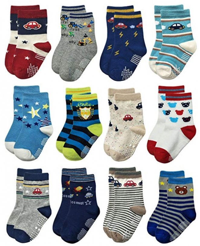 Rative Non Skid Best Kids Socks