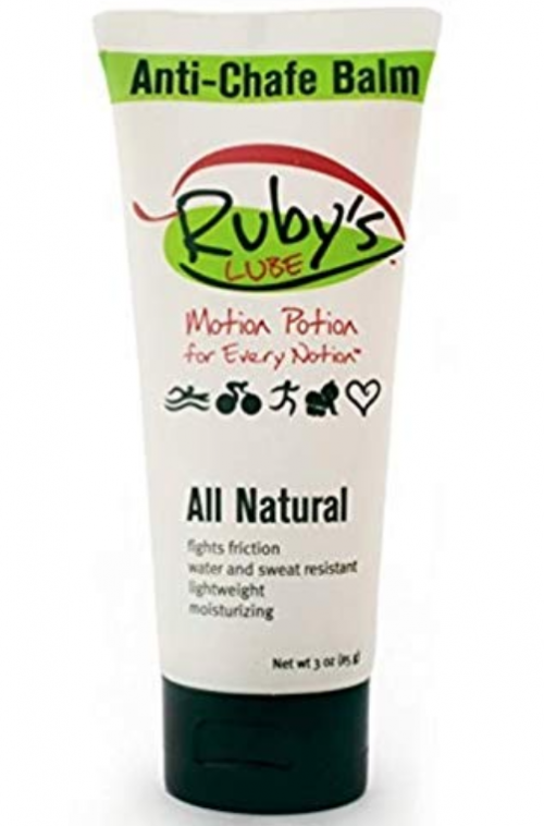 image of Ruby's Lube anti chafing cream