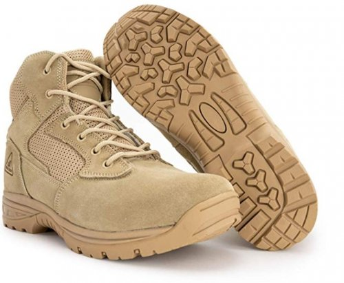 Ryno Gear Tactical light brown & tan boots pair