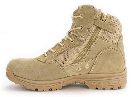 Ryno Gear Tactical light brown & tan boots