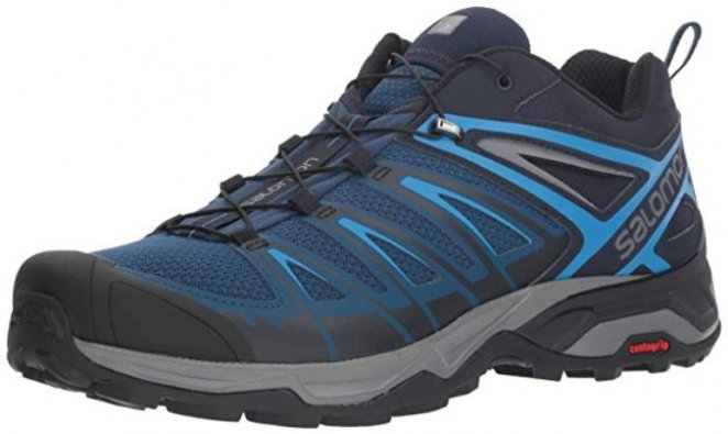 image of Salomon X Ultra 3 Trail best outdoor shoes
