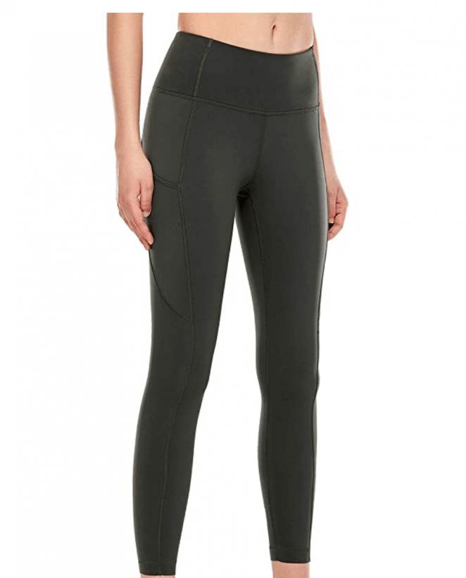 CRZ YOGA High Waisted Yoga Pants with Pockets