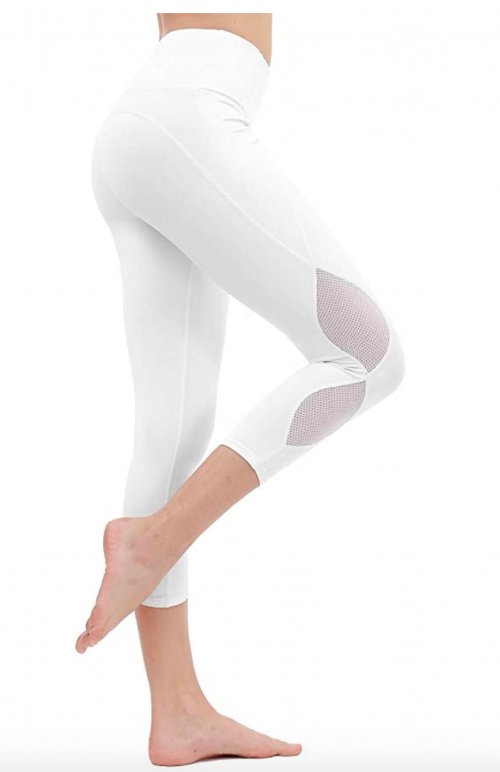 DIELUSA High Waisted Yoga Pants Workout Leggings