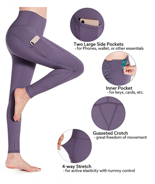G4Free High Waist Yoga Pants with Pockets Specs