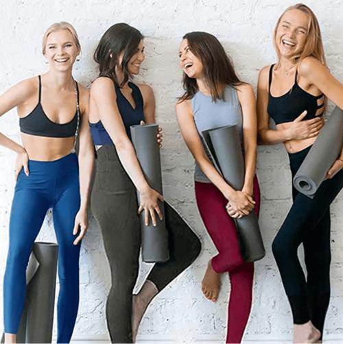 Gayhay High Waist Yoga Pants with Pockets Models