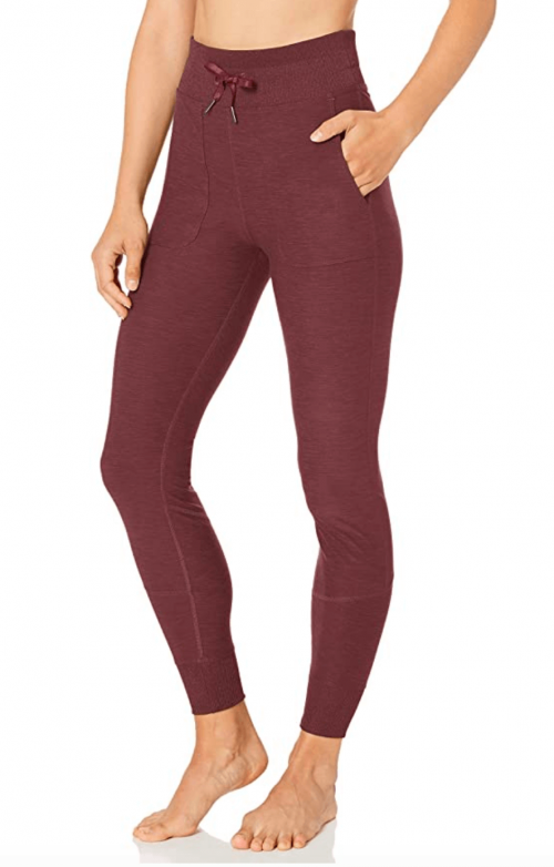 Amazon Brand - Core 10 Women's Cozy Yoga High Waist Legging with Pockets