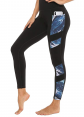 Persit Women's Printed Yoga Pants with 2 Pockets