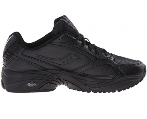 Saucony Men's Grid Omni Walker walking shoes for flat feet